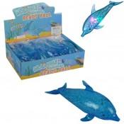 светящиеся антистресс Дельфин с гидрогелем