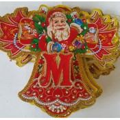 """Новогоднее украшение """"Гирлянда-растяжка С новым годом"""""""