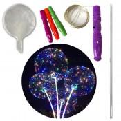 Светящийся воздушный шар на палочке
