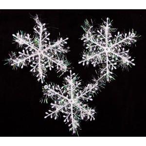 Новогодняя снежинка 11 cm
