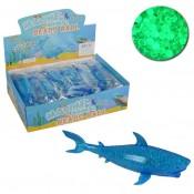 светящиеся антистресс акула с гидрогелем