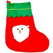 Украшение носочки новогодний