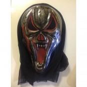 Карнавальная маска демона летучая мышь