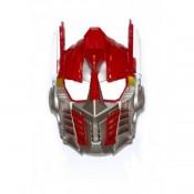 Карнавальная маска пластик Трансформер,красный