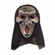 Карнавальная маска убийцы, крик
