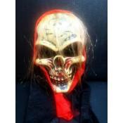 Страшная маска с капюшоном