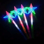 Светящаяся палочка Звезда с узором