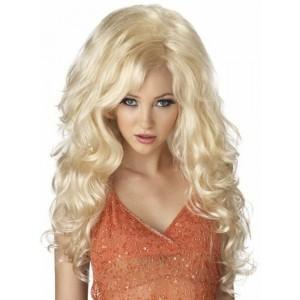Бежевый парик