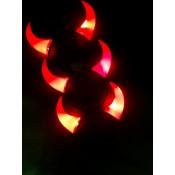 Ободок с рожками дьявола на Хэллоуин