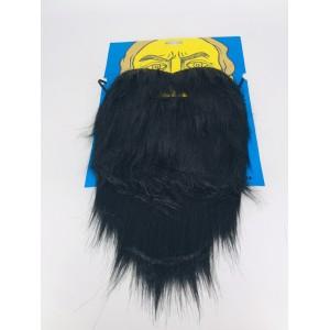 Борода пирата черная