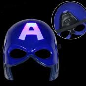 Светящаяся супер-героическая маска Косплей Капитан Америка