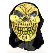 Латексная маска на хэллоуин злобное существо