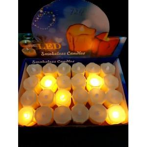 Декоративные светодиодные свечи 724