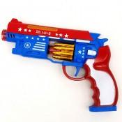 Пистолет светящийся, музыкальный Капитан Америка