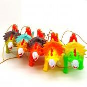 Музыкальная светящаяся интерактивная  игрушка динозавр