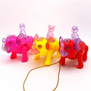 Музыкальная, светящаяся, интерактивная игрушка Слоник