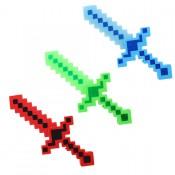 меч Майнкрафт со звуковыми и световыми эффектами
