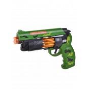 Пистолет полицейского в цвете хаки со звуком