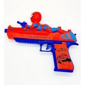 Пистолет музыкальный человек паук