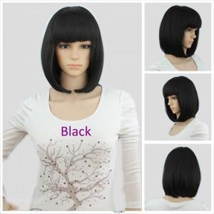парик чёрный каре