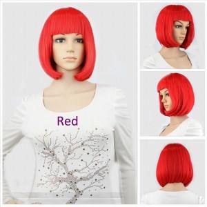 парик каре крассный