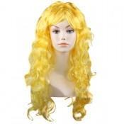 парик жёлтый