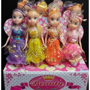 Кукла с разными волосами