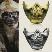 Полумаска  черепа