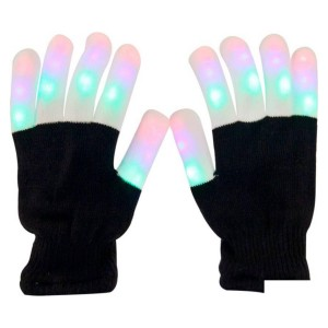 перчатки светящиеся