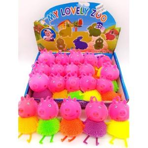 """Резиновая игрушка её """"Свинка Пэпа"""""""