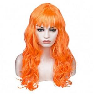 Карнавальный парик Оранжевый