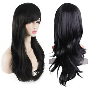 Карнавальный парик Черный