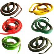 змея силиконовая цветные