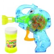 Мыльные пузыри Bubble с пистолетом Слон и светом